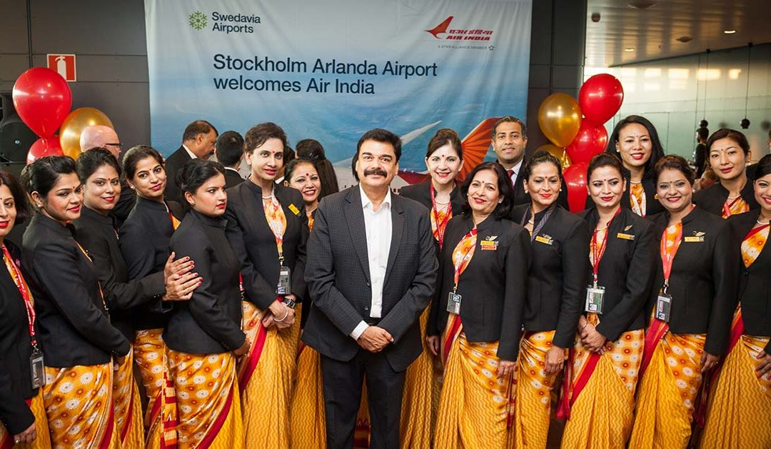 New direct flight from Delhi to Stockholm