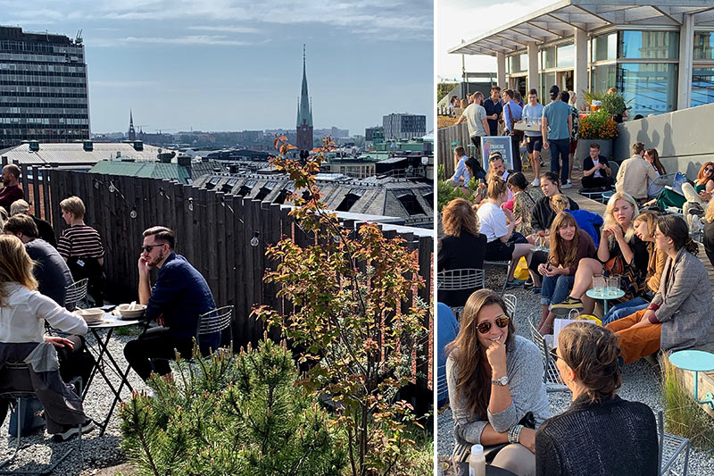 Stockholm Rooftop Bars - 10 bars with a view