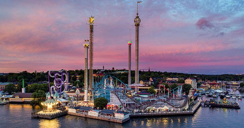 Gröna Lund - amusement park in Stockholm (Foto: Marko T Wramén/Gröna Lund)